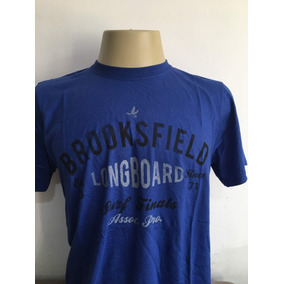 Camiseta Gola Redonda Algodão Pima Peruano Brooksfield Xg M f1d335a9be362