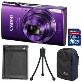Canon Powershot Elph 360 Hs Wi -fi Digital Cámara ( Púrpur