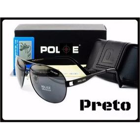 4e7b96226f7e9 Óculos De Sol Aviador Polarizado 100% Uva Uvb Masculino Best. R  157 97