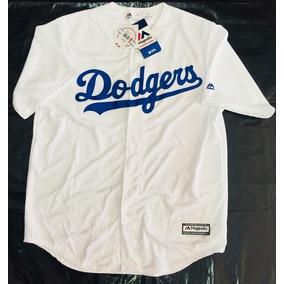 Jersey Original Majestic Dodgers 2019 Playera Camisa Oficial 6e70bd919894e