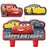 Fiesta Cars Kit Vela Mesa Dulces Pastel Decoración Infantil