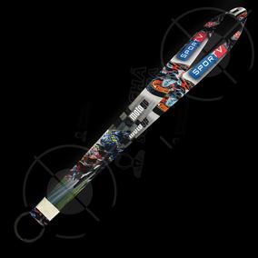 Cordão Personalizado Tema Moto Gp 01 - Argola Preta
