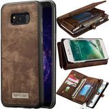 Capa Case Flip Carteira Couro Galaxy S7 Flat Classica Cover