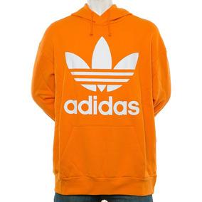 Buzo Trifolio Oversize Naranja adidas Originals