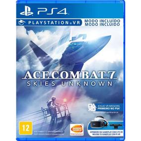 Jogo Ace Combat 7 Skies Unknown - Ps4 - Não Perca