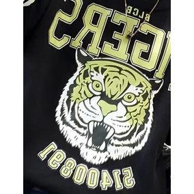 Combo Buzos Tigres (blcb Tigers) Negro/verde
