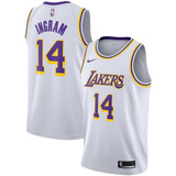 Camisa Regata Nba Basquete 2 Los Angeles Lakers  14 Ingram 8d706cd79
