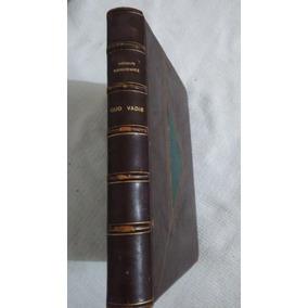 Livro Quo Vadis 1959 Ediçoes Paulinas-leia Descrição