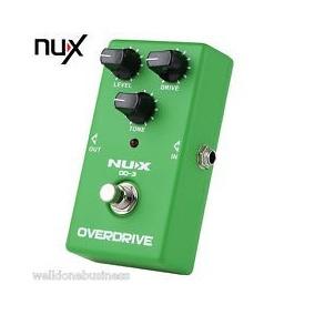 Pedal Nux Overdrive Od-3. Novo, Na Caixa!