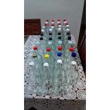 Botellas De Vidrio Lavadas 8 Piezas De 1 Lt Y 0,70 Con Tapa