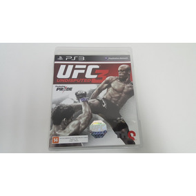 Ufc 3 Undisputed - Original - Ps3
