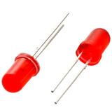Diodo Led Rojo 5mm Arduino Pcb Protoboard