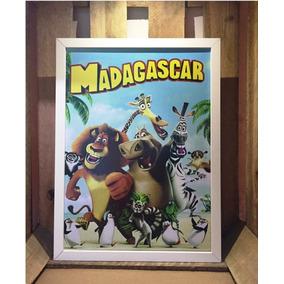 Poster Madagascar Quadro Decorativo