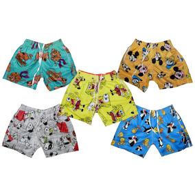 Bermuda Menino Infantil - Outros Materiais Meninos no Mercado Livre ... 960cfc54216