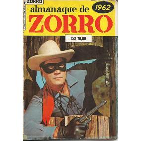 Almanaque Zorro - 1962 - Ebal