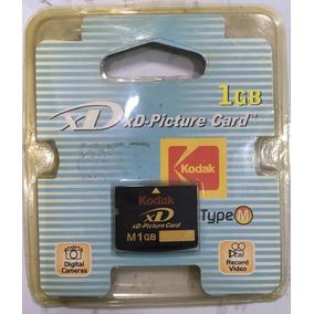 Cartão De Memória Xd 1gb Type M Kodak
