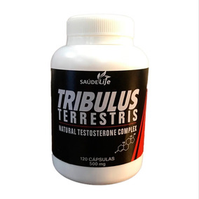 Tribulus Terrestris 500mg - 120caps - Saúde Life