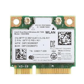Mini Pci Wireless 802.11ac Bt 4.0 Dual Band Ac 867mbs Dell