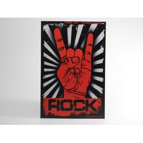 Placa Decorativa Rock