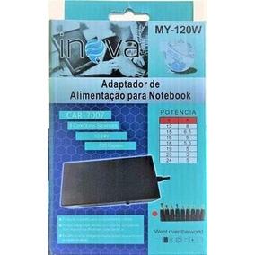 Carregador Notebook Universal Car-7007 My-120w Frete Grátis