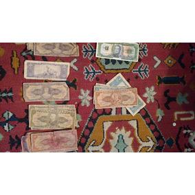 Lote Dinheiro E Moedas Varios Paises