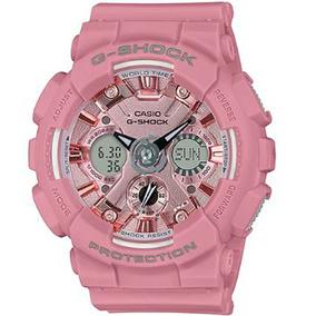 7aba9dc10150 Reloj Casio Dama Rosa Metalico - Reloj Casio en Mercado Libre México