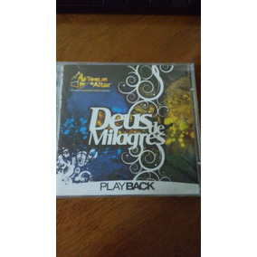 cd deus de milagres toque no altar playback
