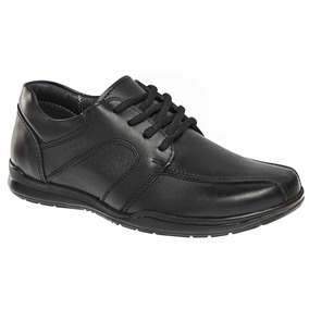 Zapato Escolar Yuyin 27072 Niño Negro 15-25 T3