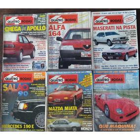 4 Rodas - Coleção Com 75 Revistas Da Década De 90