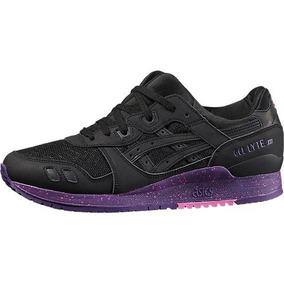 e3362ce648968 Tenis Asics Mujer Negro Gel-lyte Iii H6x0l.9090