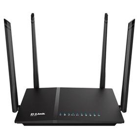 Roteador D-link Ac 1200mbps Dir-825 4 Antenas Wifi Gigabit