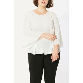 15d2460169de4 Blusa Mujer Gasa Blanca - Ropa y Accesorios en Mercado Libre Argentina