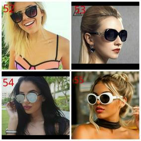 Combo Oculos De Sol Feminino - Óculos no Mercado Livre Brasil 428cd0dd22