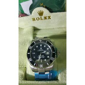 Reloj Submariner Negro Con Plata , Envío Gratis