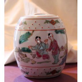 Potiche Porcelana China -zhongguo Jingdezhen- (150193)
