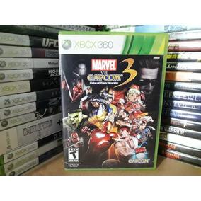 Jogo De Luta Marvel Vs Capcom 3 Xbox 60 Original Mídia Leia