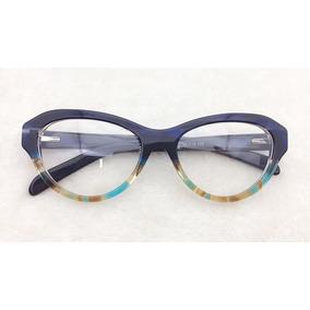 Armacao Oculos Fits Ft502 5216 137 C2 - Óculos no Mercado Livre Brasil 25a274b7b5