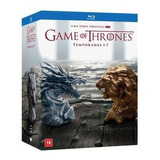 Blu Ray Coleçao Game Of Thrones 1° A 7° T. (lacrado) Dublado