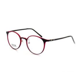 8cd52fb37d2ac Óculos De Grau Masculino Cannes 6287 T 50 C 50 Vermelho por Hubsales Shop