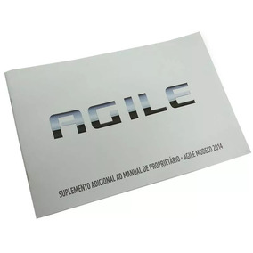 Suplemento Adicional Manual Proprietário Agile (14) 98550477