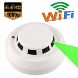 Detector Sensor De Humo Wifi P2p Vision Nocturna Fullhd 24h
