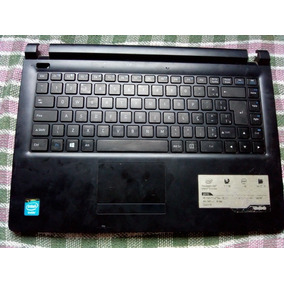 Teclado + Moldura Notebook Ultra Thin U25