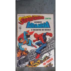 Super Homem Contra Homem Aranha 1 - Abril - Original - 1986