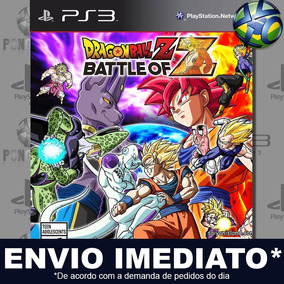 Ps3 Dragon Ball Z Battle Of Z - Midia Digital Cód Psn Leg Br