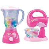 Figuras De Acción,juguete Pink Licuadora Y Mezclador De ..