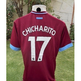Asombroso Jersey West Ham 2018 2019 Chicharito Hernandez 17 80b70e809