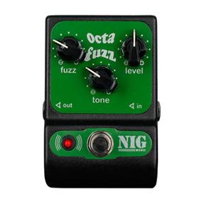 Pedal Nig Guitarra E Baixo Octa Fuzz - Poc - Calango Music