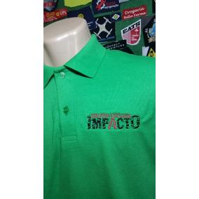 Camisa Polo Uniforme Bordado Personalizada Na Frente Seulogo 9d6bcea3afcfc