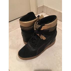 Zapatillas Con Taco Interno Puma - Zapatillas de Mujer en Mercado ... 34eb97d323fd7