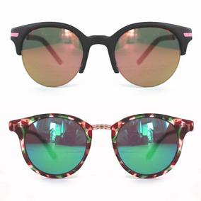 a1df5821487c7 Oculos De Sol Feminino Espelhado Colorido - Óculos De Sol no Mercado ...